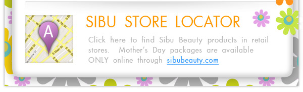 Find Sibu Beauty Products in Retail Stores with our Store Locator